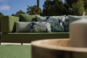 Outdoor fabrics in Menorca